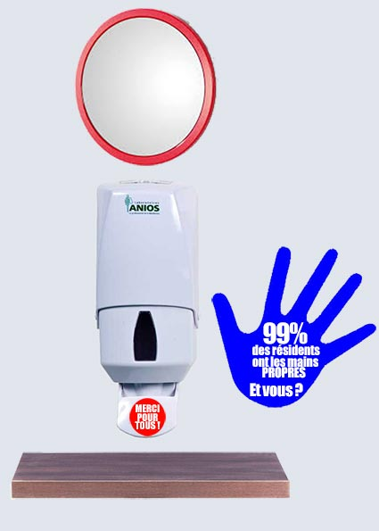 Nudge marketing hygiène des mains