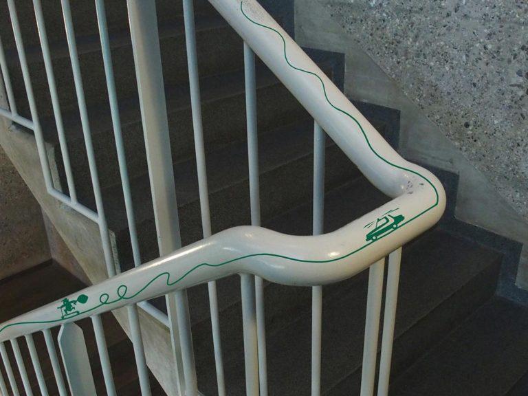 Main escalier voleur